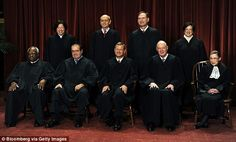 SUPREME LAW: Five justices on America's highest courts – but not the Chief Justice (John R...