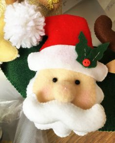 Papai Noel feltro