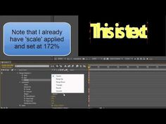 AE Basics Shaping Text And Advanced Options (+playlist) Text Animation, After Effects, Need To Know, The Unit, Teaching, Adobe, Youtube, Cob Loaf, Education