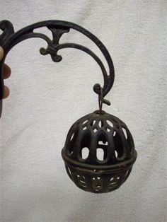 Antique Cast Iron General Store String Twine Holder