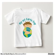 inktastic Earth Day Share The Planet Baby T-Shirt