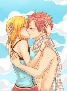 Promp 1: You  Why is Natsu naked?¯_(ツ)_/¯ Enjoy my first prompt in the nalu week after the nalu week, the lack of time, sorry.