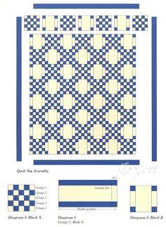 Double Irish Chain Quilt Directions | Details about Double Irish Chain Quilt, Squares & Rectangles quilt ...