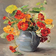 Flower Birthday Cards by Anne Cotterill