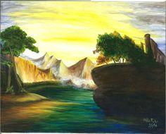 Fanciful Landscape Thomas Doughty