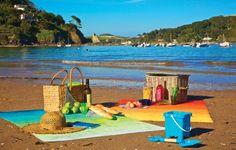 Enjoy a picnic on the beach