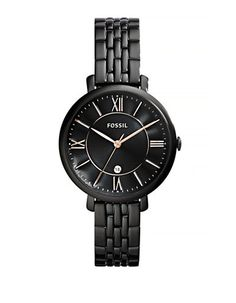 Jewellery & Accessories   Fashion   Jacqueline Black Stainless Steel Bracelet Watch   Hudson's Bay