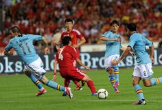 David Silva vs China : Spain Football Team 2012