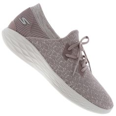 6b8edc11d71 Tênis Skechers You Exhale - Feminino