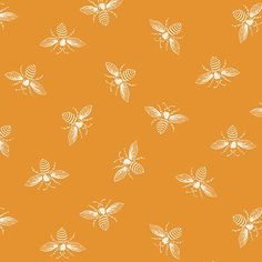 Bee Fabric, Fabric Glue, Cotton Fabric, Small Envelopes, Andover Fabrics, Quilting Thread, Thing 1, English Paper Piecing, Orange Peel
