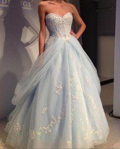Sweetheart Princess Prom Dress