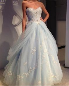 Sweetheart Princess Prom Dress