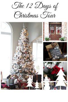 Christmas Tour at refreshrestyle.com