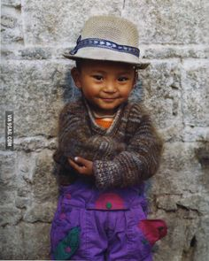 A smile from Tibet