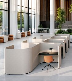The Avion Collection designed by Keith Melbourne for Stylecraft brings a modular and incredibly flexible option for the workplace. It's a new kind of agile versatility. Workspace Design, Office Interior Design, Office Interiors, Office Cubicle Design, Work Cubicle, Modern Office Design, Bureau Open Space, Le Corbusier, Study Cafe