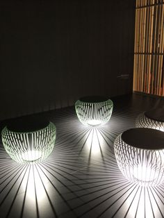 A chair? A lamp? Shadow play by Vibia