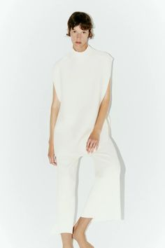 LOOK | ZARA Australia Zara Australia, Look Zara, Lounge Wear, High Neck Dress, Dresses For Work, Fashion, Turtleneck Dress, Moda, Loungewear