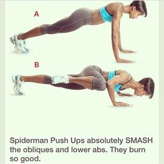 Great ab, oblique, and core workout! Chest and tris too!