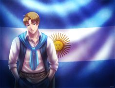 +LH: Argentina+ by kuraudia on DeviantArt Argentina Country, Latin Hetalia, Bad Touch Trio, Hetalia Axis Powers, American Country, Anime Characters, Fictional Characters, Image Boards, Cool Art