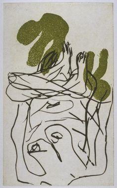 Georg Baselitz '[no title]', 1995 © Georg Baselitz