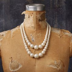 Paulette Pearl Necklace White now featured on Fab.