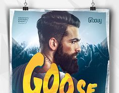 "Check out new work on my @Behance portfolio: ""Goose Bumps Flyer"" http://be.net/gallery/33866774/Goose-Bumps-Flyer"