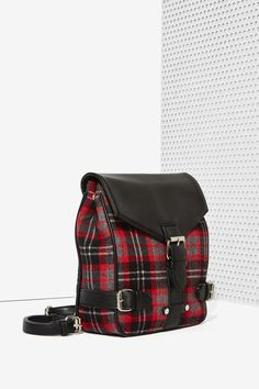 Nasty Gal x Nila Anthony Way Out West Plaid Backpack - Accessories   Bags + Backpacks