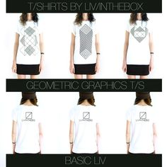 our geometric graphics t-SHIRTS ! design Made in italy + screenprint handmade in italy