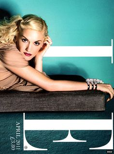 Gwen on the cover of Elle UK