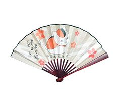Natsumes Book of Friends Festival Nyanko Cat Folding Fan ** Check this awesome product by going to the link at the image. (Note:Amazon affiliate link)