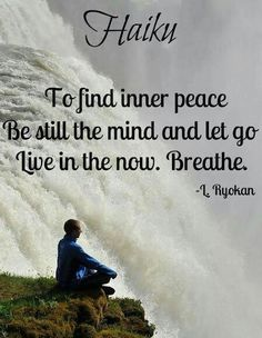 Meditation words clear the mind, be still, just breath, and relax the body. just 10 mins a day to start. Start tense slowly loosen body while slow belly breathing. in through nose out through mouth Haiku, Breathe, Meditation, Finding Inner Peace, Paz Interior, Live In The Now, Peace Of Mind, Beautiful Words, Life Lessons