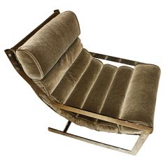 Milo Baughman Low Mohair Lounge Chair | From a unique collection of antique and modern lounge chairs at http://www.1stdibs.com/furniture/seating/lounge-chairs/