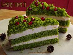 Trzeci talerz: Ciasto Leśny mech