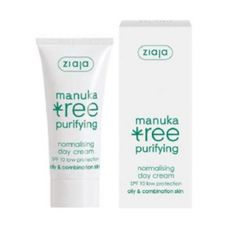 Ziaja - Crème de jour Manuka arbre SPF10