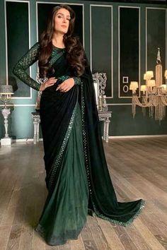 Shadi Dresses, Pakistani Formal Dresses, Pakistani Dress Design, Indian Dresses, Stylish Sarees, Stylish Dresses, Trendy Outfits, Sari Dress, The Dress