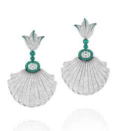 De Grisogono .Emerald & diamond.Save by Antonella B.Rossi
