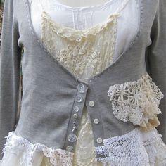 Medium Silk Cardigan