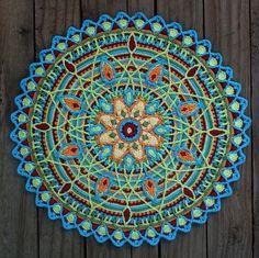 Mandala  - Decke häkeln                                                       …
