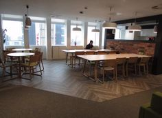 The communal area for our tenants. All the space you need to eat, work and play.