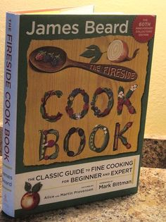 JAMES BEARD The Fireside Cookbook Cook Book SIGNED 60th Anniversary Edition NICE