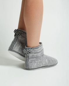 Bootie Slippers - size large
