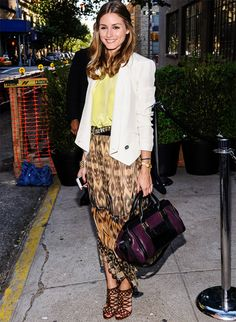 Olivia Palermo #style #fashion