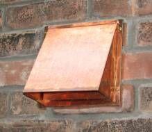 Beautiful  inch copper range hood wall vent
