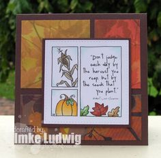 From the Heart Stamps- Harvest Medley – My Crafty Place