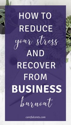 Learning how to reduce stress so you can recover from business burnout is key to long-term career success. The only problem is that this solution is easier said than done. Here are tips for reducing stress and burnout as a business owner!