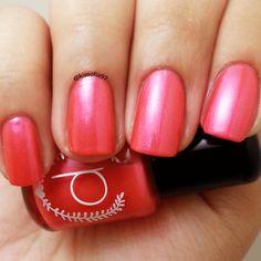 New to ParloCosmetics on Etsy: Red Nail Polish - Bright Raspberry Red - Nail Polish - Girl Crush (4.75 USD)