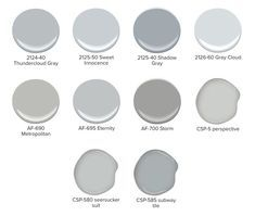 Benjamin Moore Metropolitan Color More Than Shades Of Gray The Paint People List Blue Grays Shades Of Grey Paint, Blue Gray Paint Colors, Paint Colours, Gray Color, Room Colors, Color Paints, House Colors, Interior Paint Colors, Paint Colors For Home