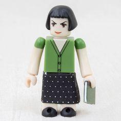 RARE! Amelie Poulain Kubrick figure Green Ver. Medicom Toy Audrey Tautou JAPAN #MedicomToy