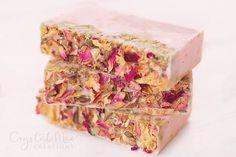 Rose Soap  Coconut Milk Soap  Vegan Soap