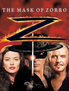 The Mask of Zorro - i loved this movie, it was so fun and of course antonio and catherine zeta jones, great love story.